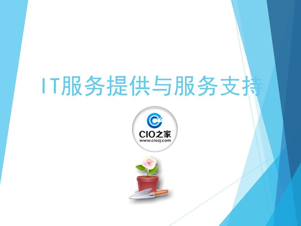 陈伟-IT服务提供与服务支持