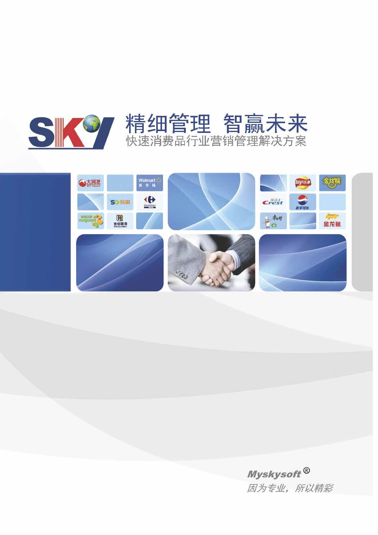 Skysoft-精细管理智赢未来