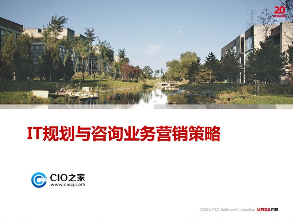 郭倩-IT规划与管理咨询业务营销策略