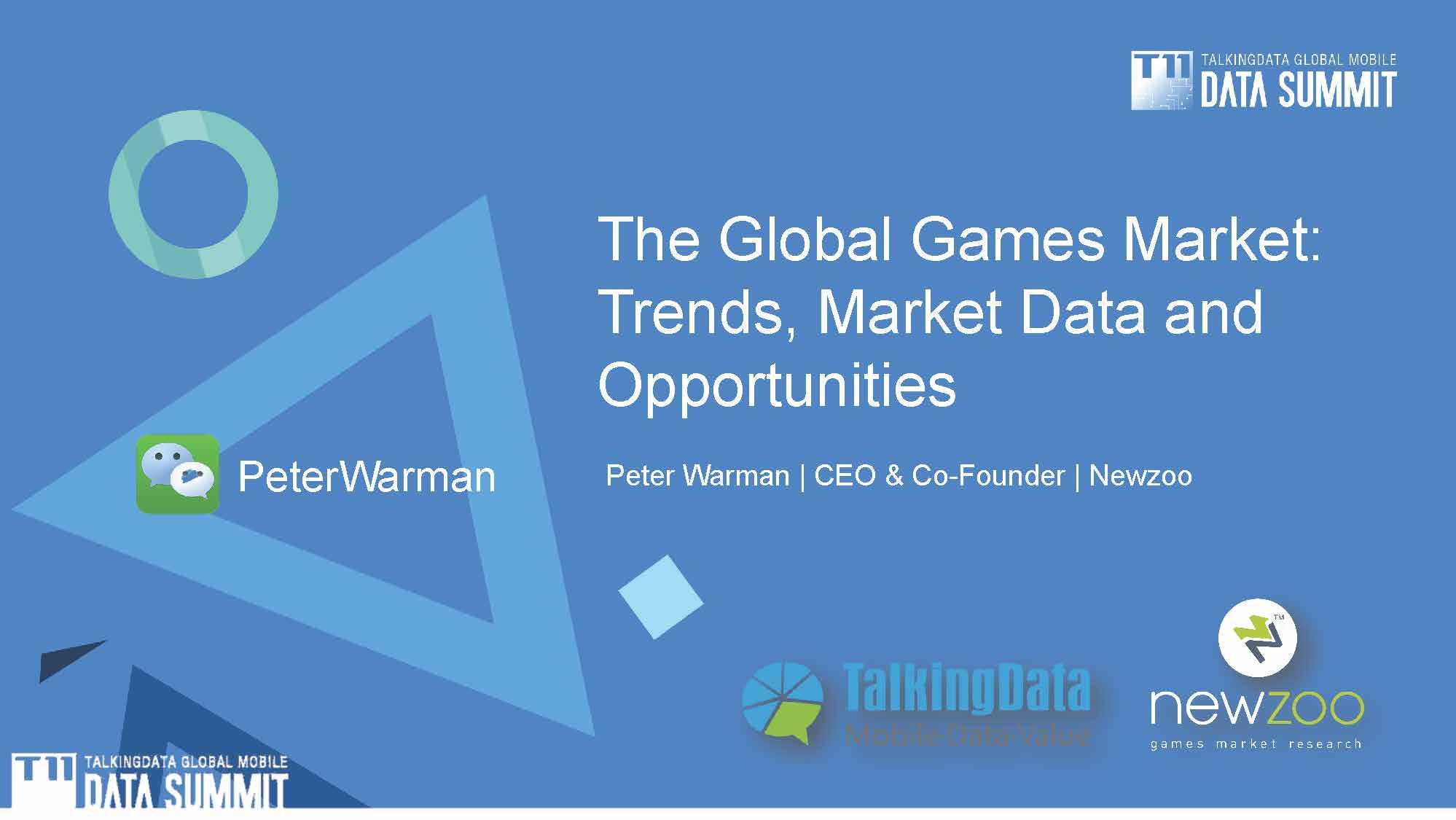 Peter Warman-透析全球数字娱乐市场