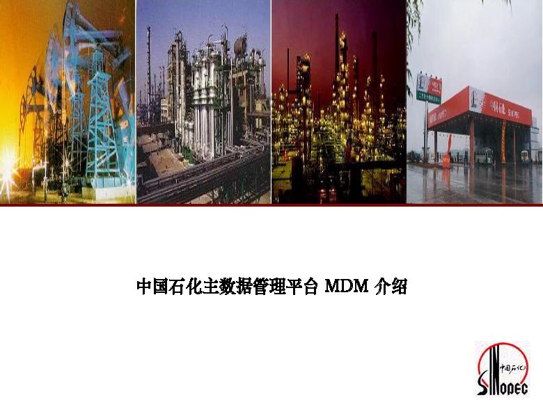 中石化-主数据管理介绍