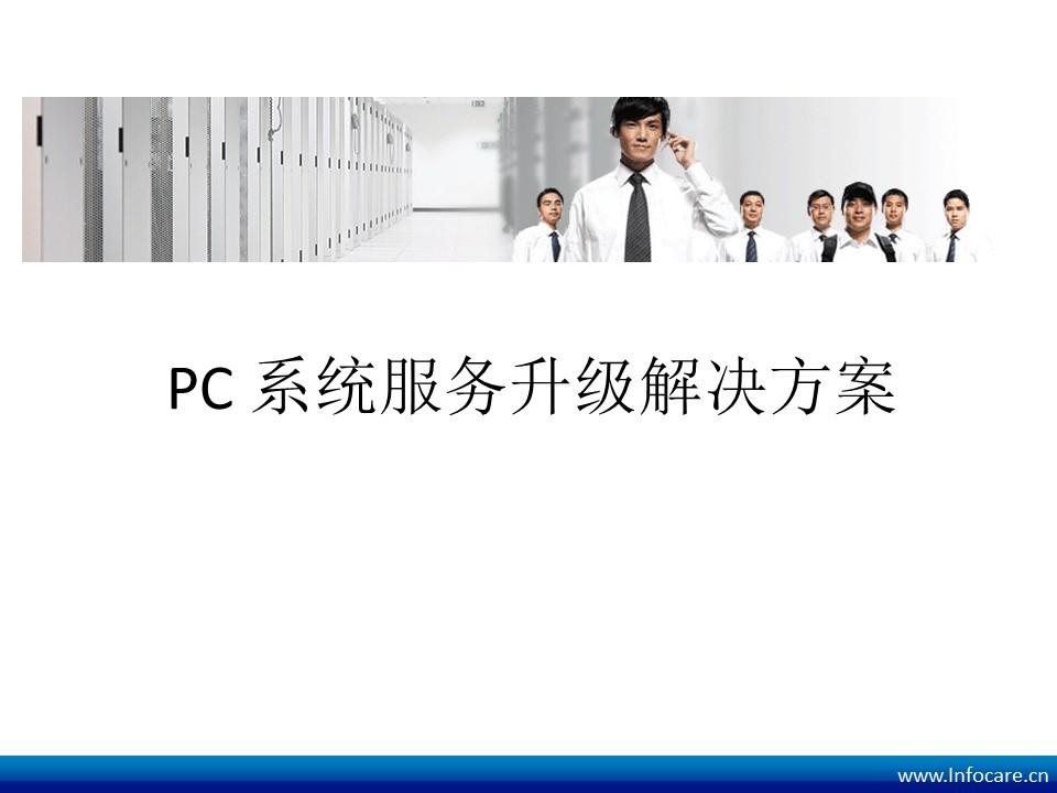 InfoCare-传统IT外包服务如何升级成为ITSM架构的MSP服务商