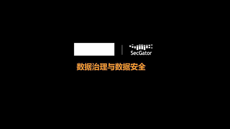 刘霖-数据治理与数据安全