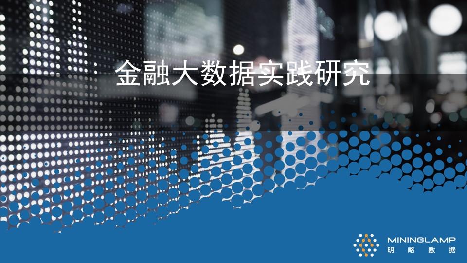 周卫天-金融大数据实践研究