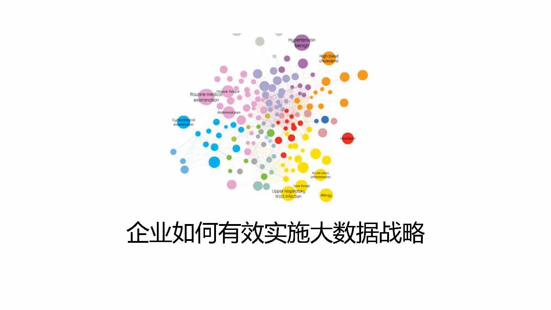 傅志华-企业如何有效实施大数据战略