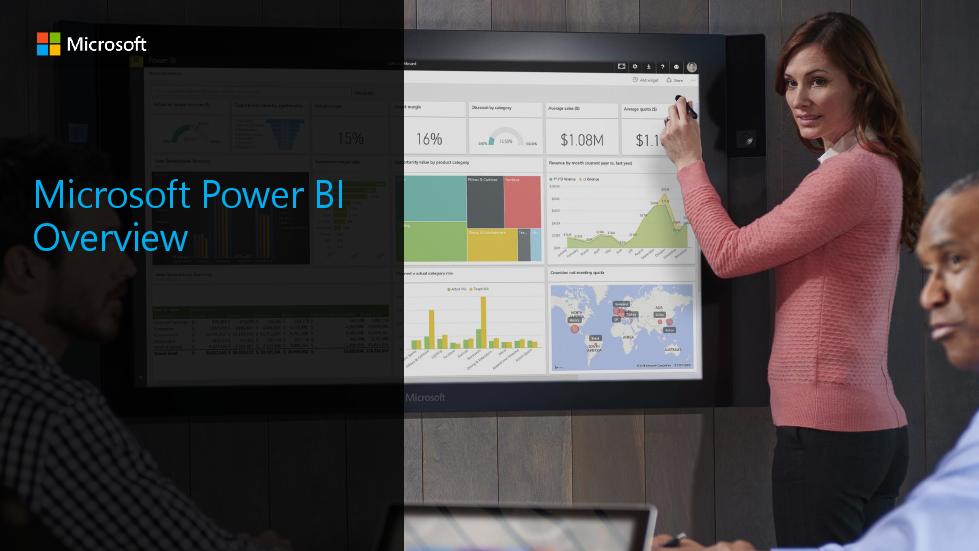 Microsoft-Microsoft Power BI Overview