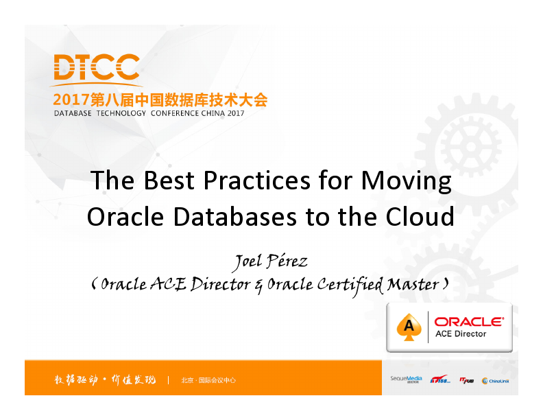 Joel Pérez-Moving Oracle Databases to the Cloud