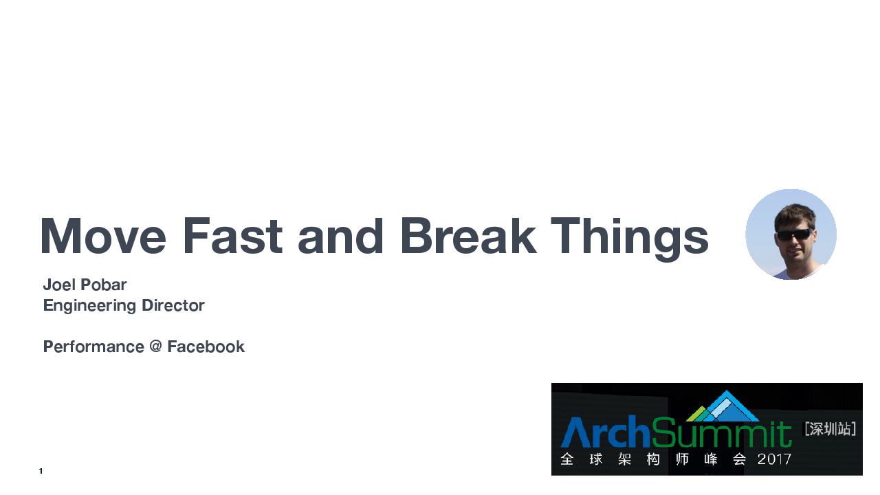 Joel Pobar-Move Fast and Break Things