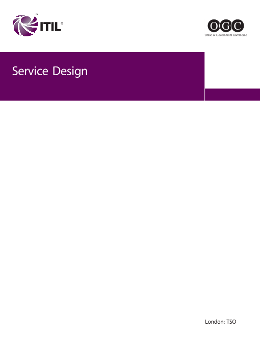 -ITIL3 Service Design