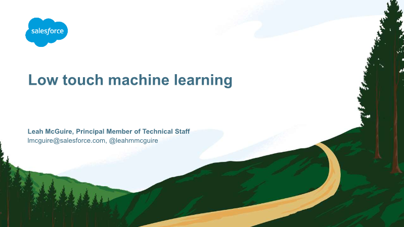 lmcguire-Low touch machine learning