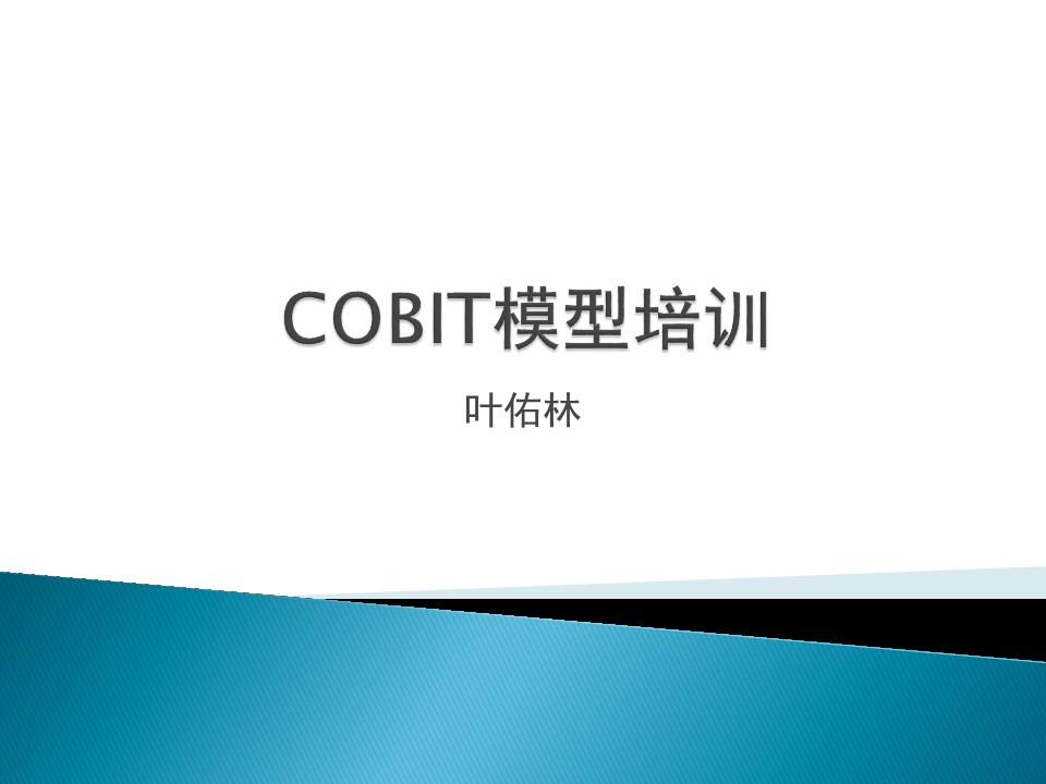 -COBIT模型培训