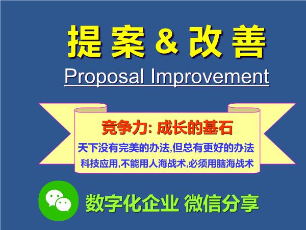 -提案改善宣导改善十二法则
