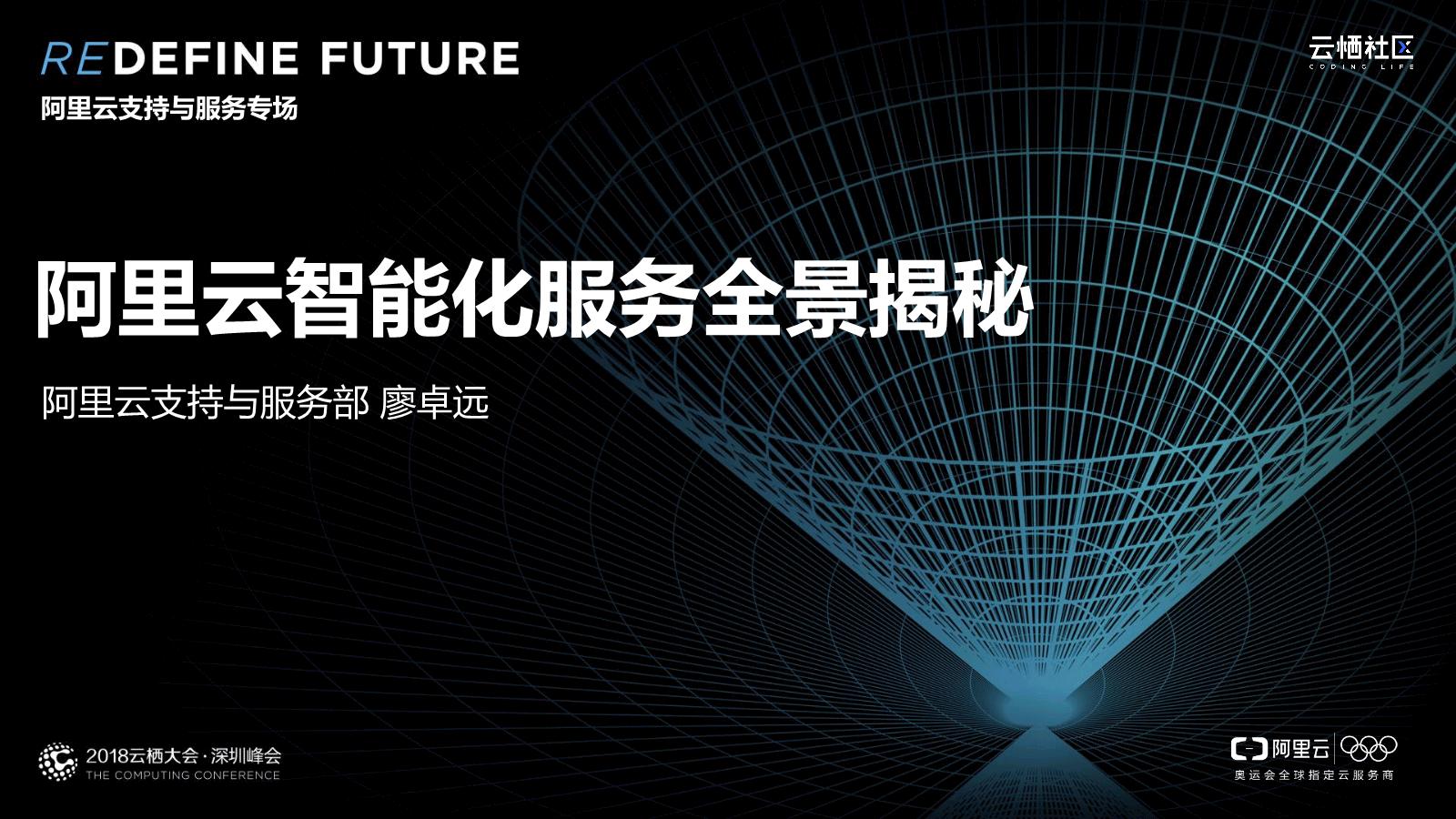 廖卓远-阿里云智能化服务全景揭秘