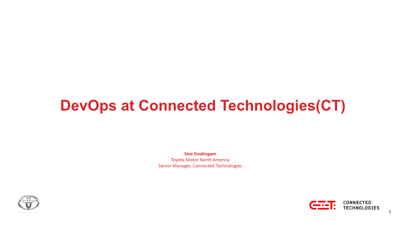 -DevOps at Connected Technologies(CT)