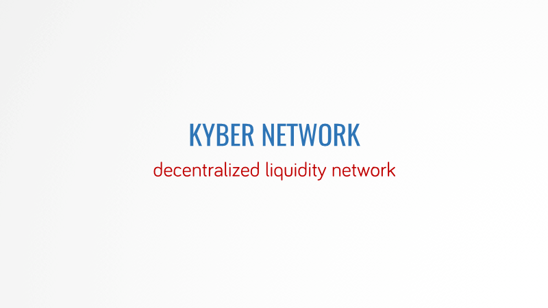 -Kyber Network and coexisting with Centrailized Exch