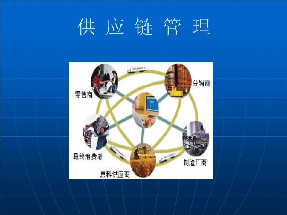 -第二章 供应链系统的类型和特征