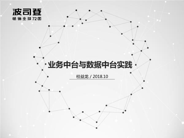桂益龙-数据中台支持新零售创新