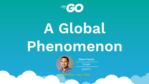 Steve-Go a global phenomenon
