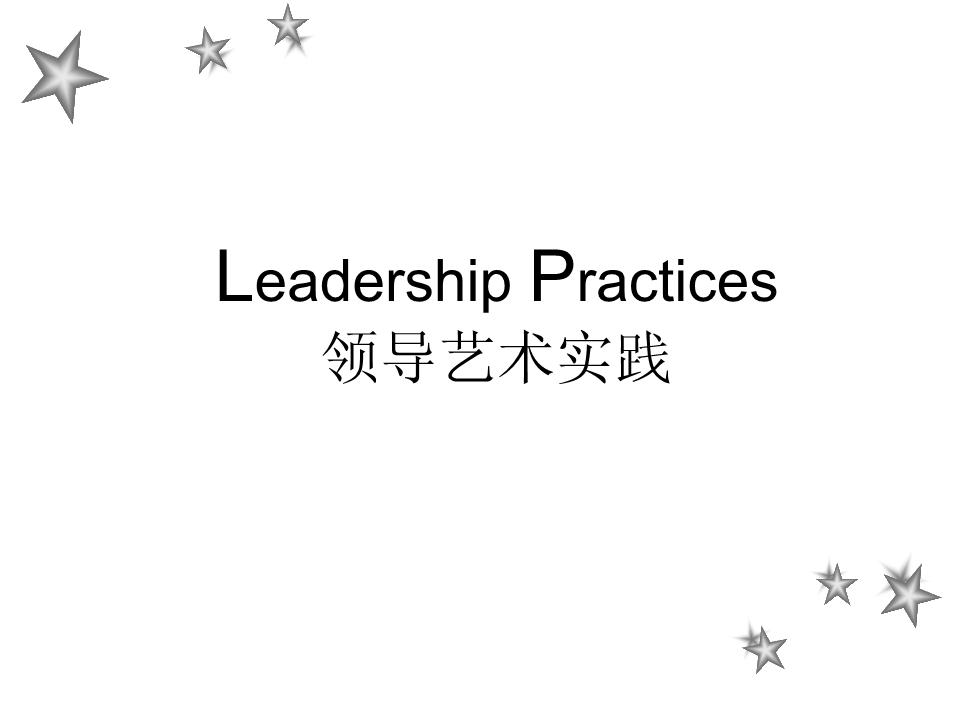 -领导艺术实践