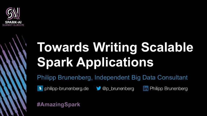 philipp brunenberg-towards writing scalable big data applications
