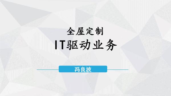 冯良波-IT驱动业务