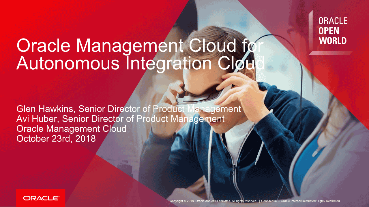 -Oracle Management Cloud for Autonomous Integration Cloud