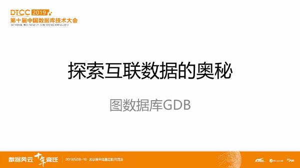 王炎-探索互联数据的奥秘图数据库GDB
