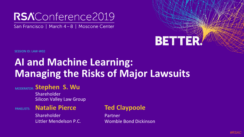 Stephen-Ai and machine learning managing the risks of major lawsuits