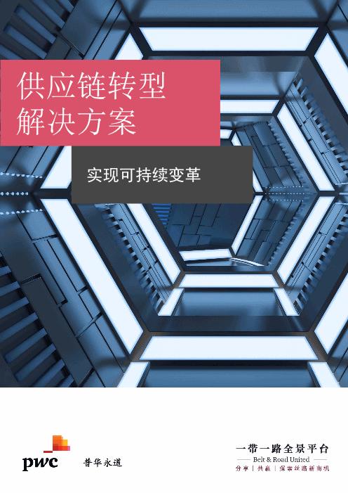 普华永道-供应链转型解决方案