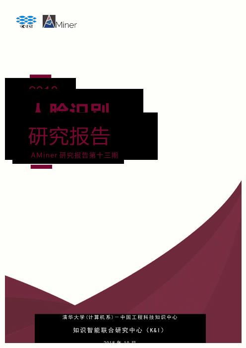 -2018人脸识别研究报告