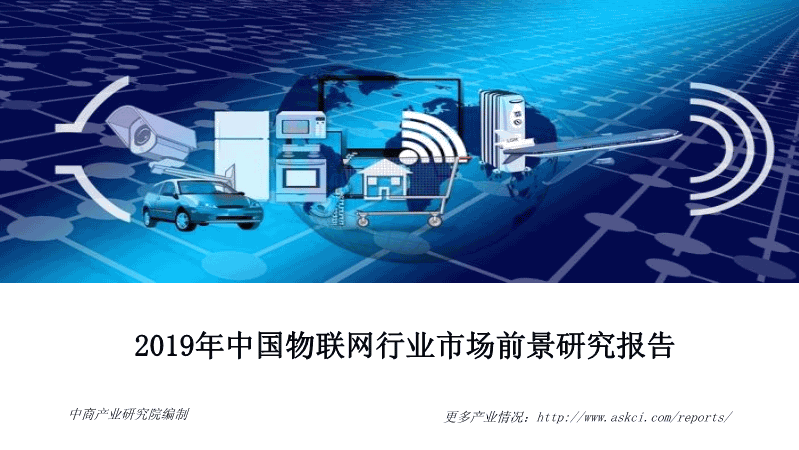 中商-2019年中国物联网行业市场前景研究报告
