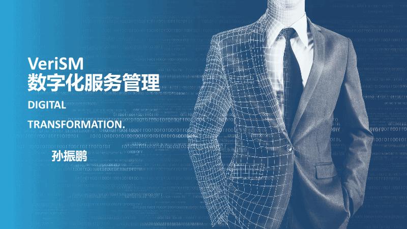 孙振鹏-VERISM数字化服务管理