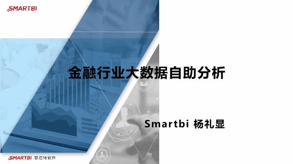 杨礼显-金融行业大数据自助分析
