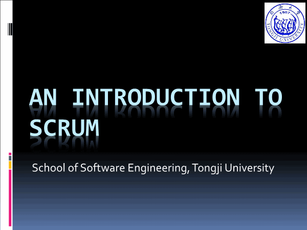 -Scrum Introduction