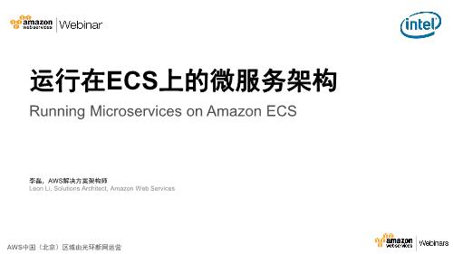 李磊-运行在ECS上的微服务架构