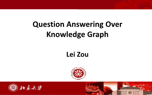 -Question Answering Over KnowledgeGraph