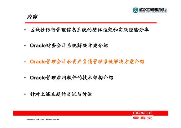 -Oracle 管理会计和资产负债管理解决方案