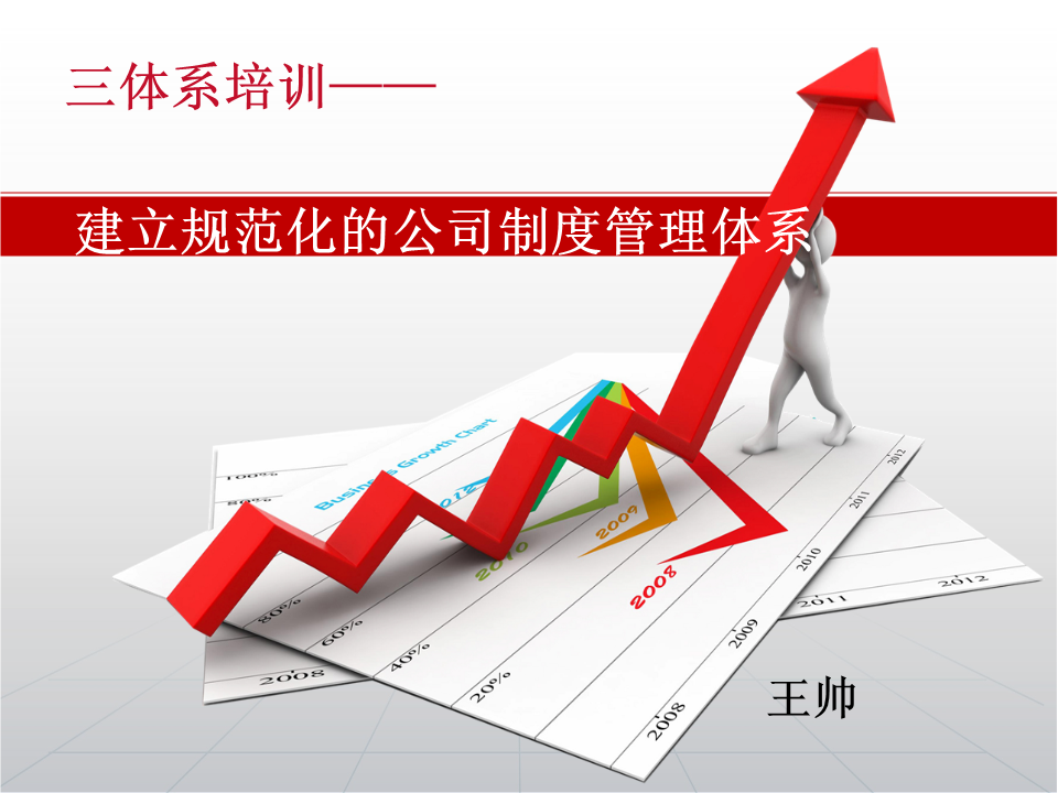 王帅-如何建立规范化的公司制度管理体系
