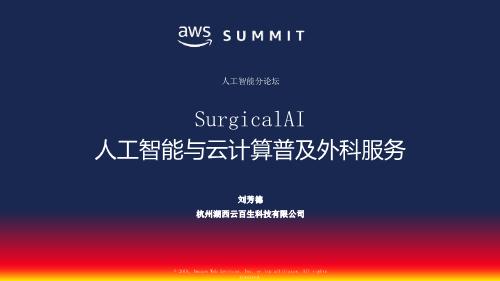 刘芳德-人工智能与云计算普及手术服务