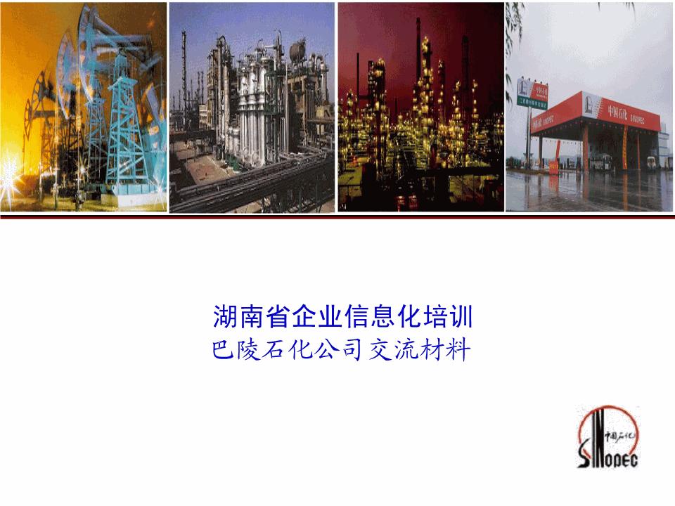 李勇强-石化行业企业信息化培训