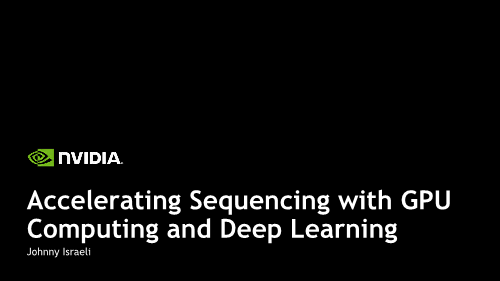 Johnny-Accelerating Sequencing with GPU Computing and Deep Learning