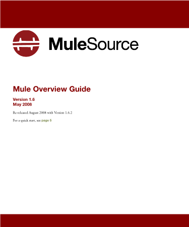 -Mule ESB Overview Guide