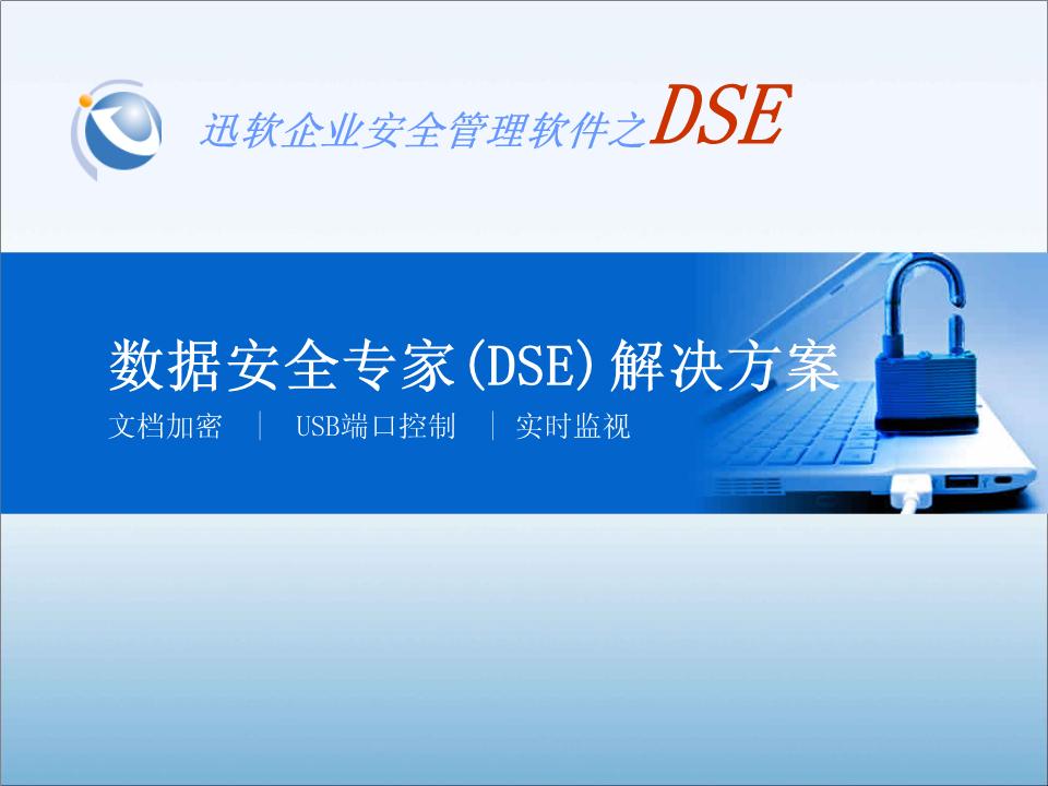 -迅软数据安全DSE解决方案