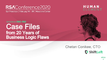 -Case Files from 20 Years of Business Logic Flaws