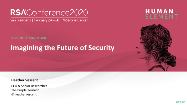 -Imagining the Future of Security