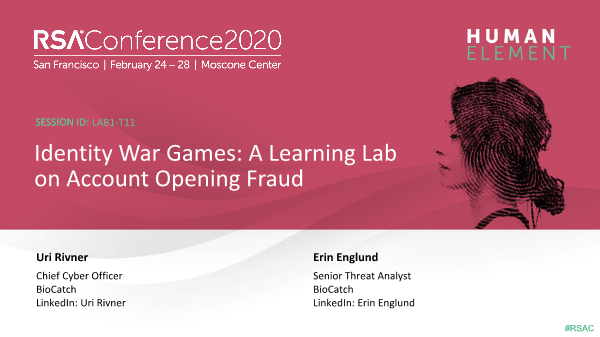 -Identity War Games A Learning Lab on Account Opening Fraud