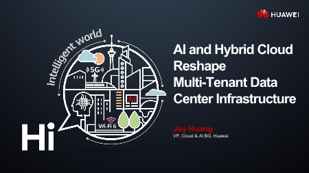 Joy Huang-AI and Hybrid Cloud Reshape Multi Tenant Data Center Infrastructure