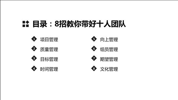 苏永恒-8招教你带好十人团队
