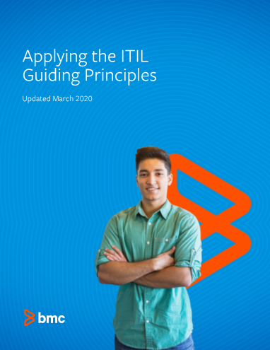 -Applying the itil guiding principles