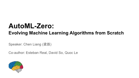 梁辰-Evolving Machine Learning Algorithms from Scratch